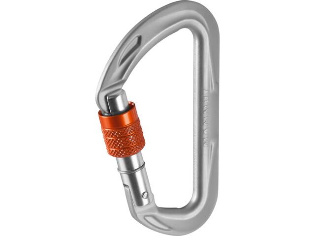Mammut Wall Micro Lock Mousqueton Screw Gate, grey